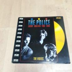 Discos de vinilo: THE POLICE, CD VIDEO. Lote 179539155