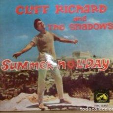 Discos de vinilo: CLIFF RICHARD AND THE SHADOWS - SUMMER HOLIDAY EP ED. ESPAÑOLA 1963. Lote 179540161
