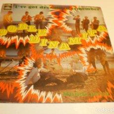 Discos de vinilo: DOBLE DINAMITA. I'VE GOT DREAMS TO REMEMBER. MUNDO JOVEN REGAL 1969 SPAIN (PROBADO, BUEN ESTADO). Lote 179540367