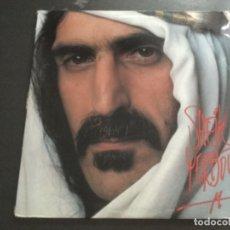Discos de vinilo: FRANK ZAPPA - SHEIK YERBOUTI . DOBLE CARPETA . 1979 USA. Lote 179541402