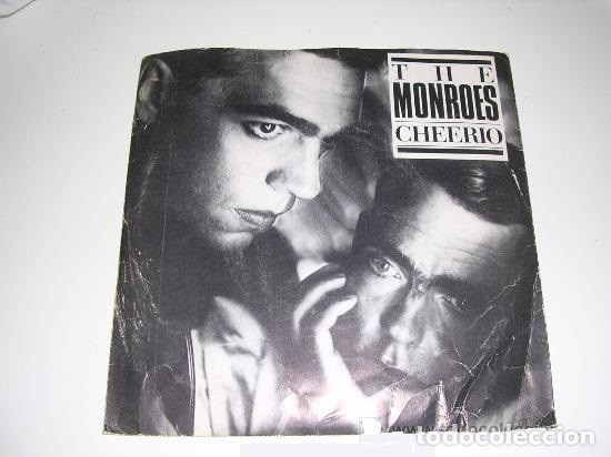 THE MONROES CHEERIO SINGLE DE 1985 (Música - Discos - Singles Vinilo - Pop - Rock - Extranjero de los 70)