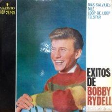 Discos de vinilo: BOBBY RYDELL - EXITOS DE BOBBY RYDELL EP ED. ESPAÑOLA 1963. Lote 179543998