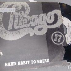 Discos de vinilo: SINGLE VINILO) DE CHICAGO AÑOS 80. Lote 179544215