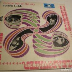 Discos de vinilo: CREEDENCE CLEARWATER REVIVAL. IT CAME OF THE SKY. COTTON FIELS. MARTER 1970 SPAIN (PROBADO Y BIEN). Lote 179545402