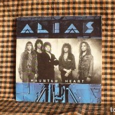 Discos de vinilo: ALIAS ?– HAUNTED HEART / WHO DO YOU THINK YOU ARE, EMI AMERICA ?– 006-20 3979 7, 1990. . Lote 179547638