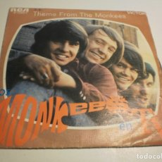 Discos de vinilo: SINGLE THE MONKEES EN TV. THEME FROM THE MONKEES. LAST TRAIN TO CLARSVILLE. RCA 1968 SPAIN (PROBADO). Lote 179557432