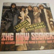 Discos de vinilo: THE NEW SEEKERS ME GUSTARÍA ENSEÑAR AL MUNDO A CANTAR. BOOM TOWN. PHILIPS 1972 SPAIN (PROBADO Y BIEN. Lote 179558126