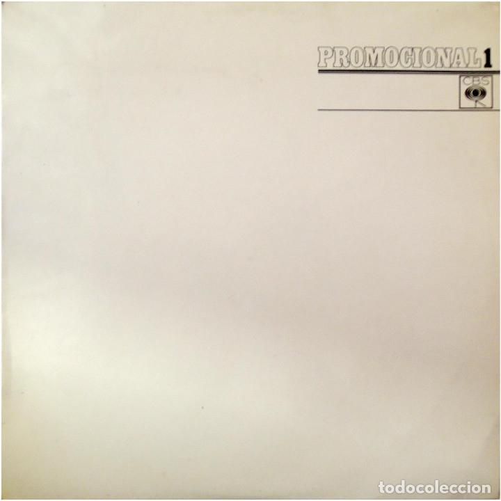 VVAA (CUERPOS Y ALMAS, TABACA, TREBOL...) - PROMOCIONAL 1 - LP PROMO SPAIN 1973 - CBS (Música - Discos - LP Vinilo - Grupos Españoles de los 70 y 80)