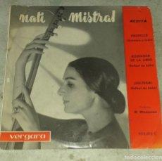 Discos de vinilo: NATI MISTRAL: PROFECÍA +2 (VERGARA 1962). Lote 179561058