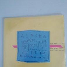 Discos de vinilo: ALASKA Y DINARAMA BAILANDO MAXI. Lote 179668688