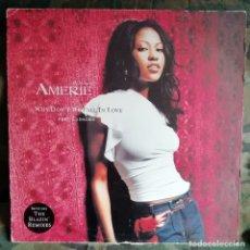 Discos de vinilo: AMERIE – WHY DON'T WE FALL IN LOVE UK 2002 FEAT. LUDACRIS. Lote 179737342