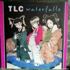 Discos de vinilo: TLC – WATERFALLS SPAIN 1995 6 TEMAS INCL ACAPELLA. Lote 179748143
