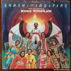 Discos de vinilo: EARTH, WIND AND FIRE. BOOGIE WONDERLAND. SG. 1979.. Lote 179880321