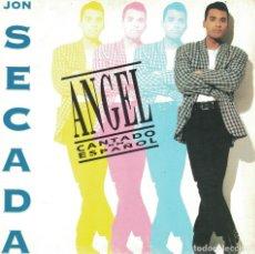 Discos de vinilo: JON SECADA - NAGEL (CANTA EN ESPAÑOL) (SINGLE PROMO ESPAÑOL, HISPAVOX 1992). Lote 179943477