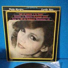 Discos de vinilo: LP - LOS ÉXITOS DE PABLO ABRAIRA Y CAMILO SESTO. Lote 179945133