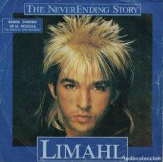 Discos de vinilo: LIMAHL - THE NEVERENDING STORY / IVORY TOWER (SINGLE ESPAÑOL, EMI 1984). Lote 179947766