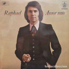 Discos de vinilo: RAPHAEL - AMOR MIO - LP DE VINILO 1ª EDICION ESPAÑOLA #. Lote 179948211