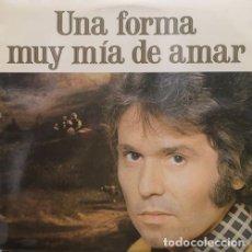 Discos de vinilo: RAPHAEL UNA FORMA MUY MIA DE AMAR LP DE VINILO 1ª EDICION ESPAÑOLA INCLUYE INSERTO CON LAS LETRAS #. Lote 179948345