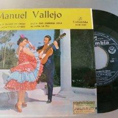 Discos de vinilo: MANUEL VALLEJO-EP SI YO TE QUIERO DE VERAS +3 . Lote 179948567