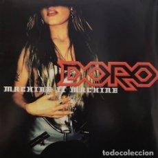 Discos de vinilo: DORO - MACHINE II MACHINE - LP 1ª EDICION ALEMANA DE VINILO #. Lote 179949708