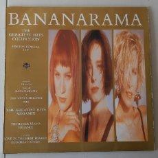 Discos de vinilo: DOBLE LP. BANANARAMA. THE GREATEST MIX COLLECTION. LONDON . ESPAÑA 1988. Lote 179954327