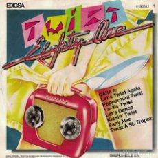 Discos de vinilo: TWIST EIGHTY ONE (MEDLEY) / HE'S JUST A YOYO (SINGLE ESPAÑOL, EDIGSA 1982). Lote 179954523