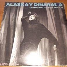 Discos de vinilo: DISCO VINILO MAXI ALASKA Y DINARAMA. Lote 189903941