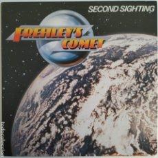 Discos de vinilo: FREHLEY'S COMET - SECOND SIGHTING - MEGAFORCE WORLDWIDE - 81862-1 - USA - 1988 - ENCARTES - EX. Lote 179957111