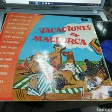 Discos de vinilo: VACACIONES EN MALLORCA LP 1969. Lote 179957866