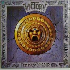 Discos de vinilo: VICTORY - TEMPLES OF GOLD - METRONOME - 843 979-1 - HEAVY METAL - 1990. Lote 179557780