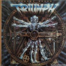 Discos de vinilo: TRIUMPH - THUNDER SEVEN - MCA RECORDS 5537 - ESPAÑA - 1984. Lote 179557795