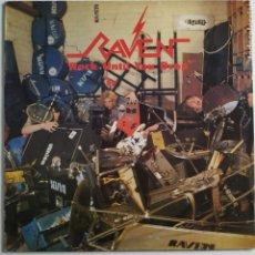Discos de vinilo: RAVEN - ROCK UNTIL YOU DROP - VICTORIA - VLP-183 F - 1986 - HEAVY METAL. Lote 179557810