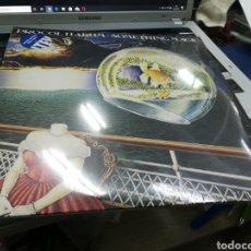 Discos de vinilo: PROCOL HARUM DOBLE LP SOMETHING MAGIC 2015 VINILO AZUL PRECINTADO. Lote 179962332