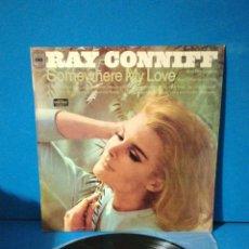 Discos de vinilo: LP - RAY CONNIFF - SOMEWHERE MY LOVE. Lote 179962742