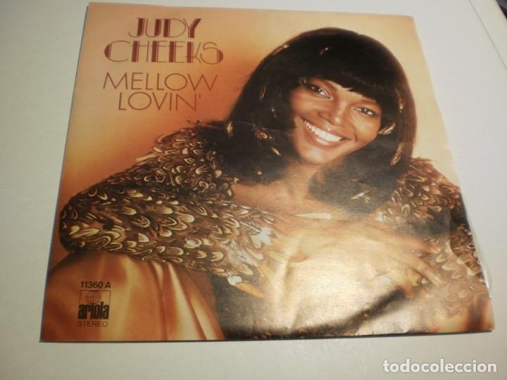 SINGLE JUDY CHEEKS. MELLOW LOVIN'. DARLING, THAT'S ME. ARIOLA 1978 (PROBADO, BIEN, SEMINUEVO) (Música - Discos - Singles Vinilo - Pop - Rock - Extranjero de los 70)