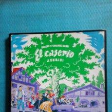 Discos de vinilo: EL CASERIO ZARZUELA COMPLETA DE FEDERICO ROMERO, GUILLERMO FERNÁNDEZ SHAW Y JESÚS GURIDI. Lote 180011935