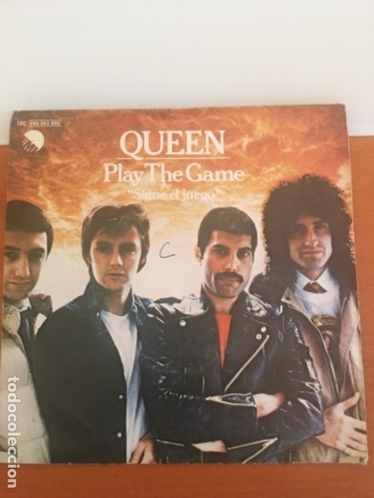 QUEEN play The game año 1980 segunda mano