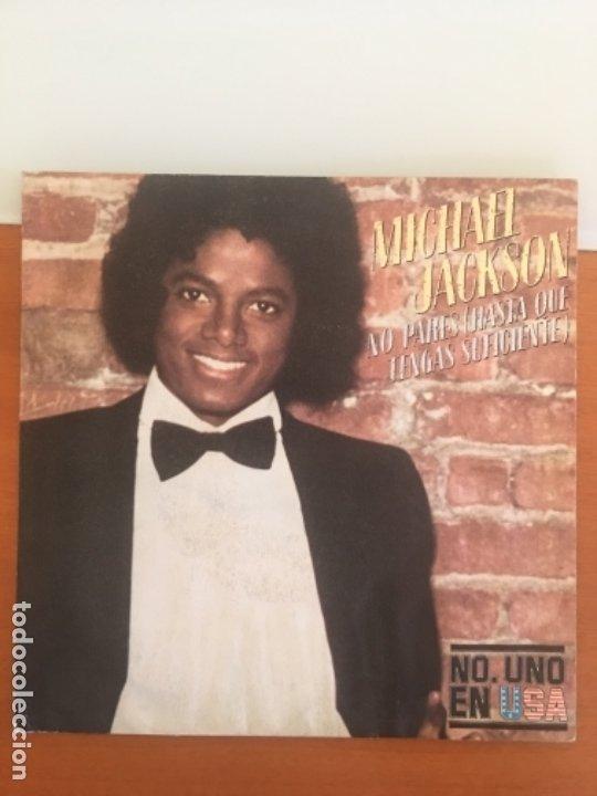 MICHAEL JACKSON NO PARES AÑO 1979 (Música - Discos - Singles Vinilo - Otros estilos)
