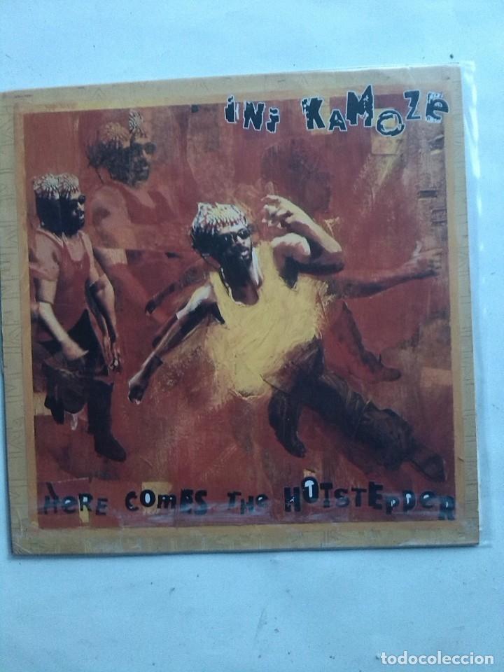 INI KAMOZE HERE COMES THE HOTSTEPPER (Música - Discos de Vinilo - EPs - Rap / Hip Hop)