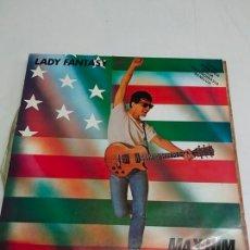 Discos de vinilo: MAX-HIM – LADY FANTASY. Lote 180013958