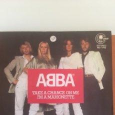 Discos de vinilo: ABBA TAKE A CHANCE, AÑO 1978. Lote 180016957