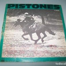 Discos de vinilo: PISTONES - PERSECUCION ... SINGLE DE ARIOLA - 1984. Lote 180019221