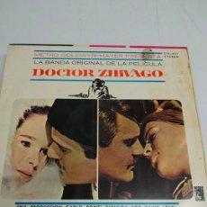 Discos de vinil: MAURICE JARRE – LA BANDA ORIGINAL DE LA PELICULA DOCTOR ZHIVAGO. Lote 180019240