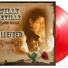 Discos de vinilo: WILLY DEVILLE - COLLECTED EDICIÓN LIMITADA Y NUMERADA VINILO ROJO 180G SOLO 1000 COPIAS PRECINTADO. Lote 180019625