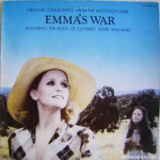 Discos de vinilo: JOHN WILLIAMS-EMMA'S WAR, FILMTRAX MOMENT 106. Lote 180020098