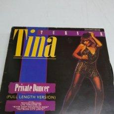Discos de vinilo: TINA TURNER – PRIVATE DANCER (FULL LENGTH VERSION). Lote 180024193