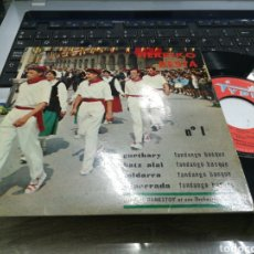 Discos de vinilo: HERRIKO BESTA EP N.1 GUETHARY + 3 FRANCIA. Lote 180027626