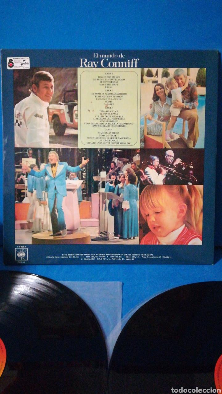 Discos de vinilo: Doble Lp - El mundo de Ray Conniff - Foto 3 - 180028658