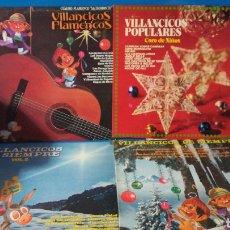Discos de vinilo: LOTE DE 4 LPS DE VILLANCICOS. Lote 180030241