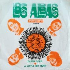 Discos de vinilo: SINGLE LOS ALBAS. Lote 180030918